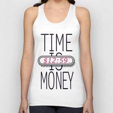 Time is Money Unisex Tank Top
