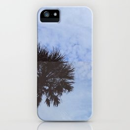 palm trees but distorted iPhone Case