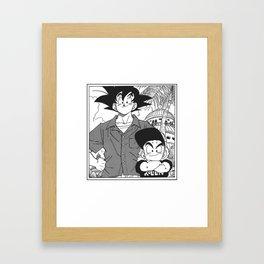 DBZ - Manga 8 Framed Art Print
