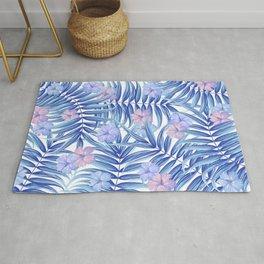Hawaiian Pattern Rug