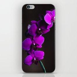 Purple Flowers (Color) iPhone Skin