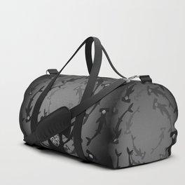 Hammerhead Shark - Silver Topaz Duffle Bag