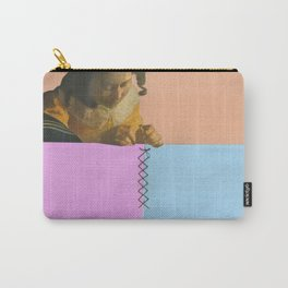 Lacemaker stitching Carry-All Pouch