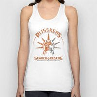 discount Tank Tops featuring Snake Plissken's Search & Rescue Pty. Ltd. by 6amcrisis