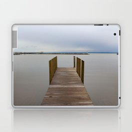 Dock on a Cloudy Day Laptop & iPad Skin