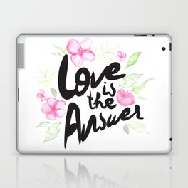 Love is the answer Laptop & iPad Skin