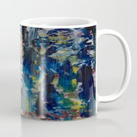 labyrinth Mugs featuring Labyrinth by Robert Horvath