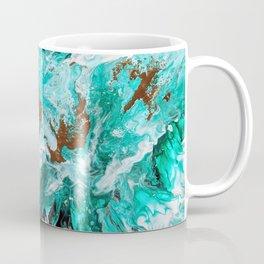 Viridian Splashes Coffee Mug