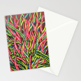 Banana Kush Flower by Mike Kraus Stationery Cards