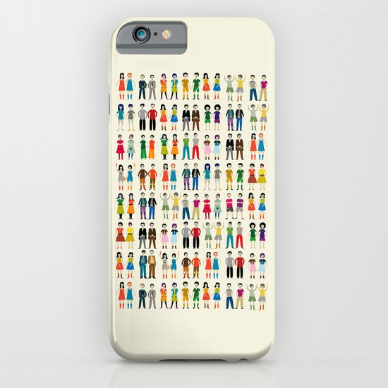 Identical Twins iPhone & iPod Case