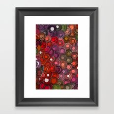 Buttons Framed Art Print