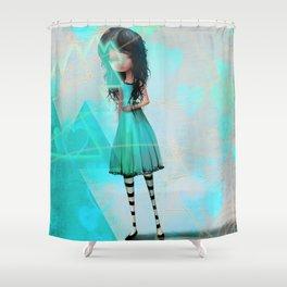 Vinding Shower Curtain