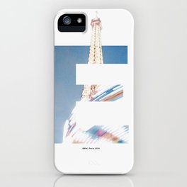 E for Eiffel iPhone Case