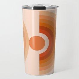 Abstraction_SUN_Rainbow_Minimalism_005 Travel Mug