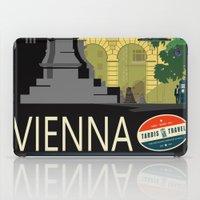 vienna iPad Cases featuring Visit Vienna by Duke Dastardly