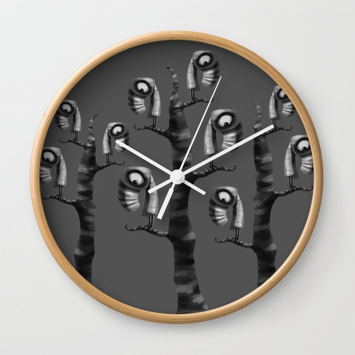 Don't Feel Like Flying Wall Clock