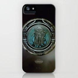 """""""Astrological Mechanism - Aquarius"""" iPhone Case"""