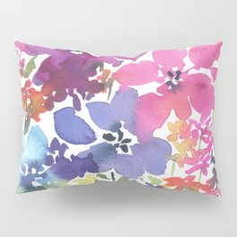 Pretty Poppy Patch Pillow Sham