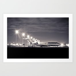 Airplane Art Print