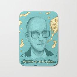 William S Burroughs Bath Mat