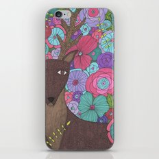 The Wise Stag iPhone & iPod Skin