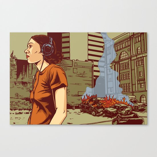 Locals Only - Portland, OR Canvas Print