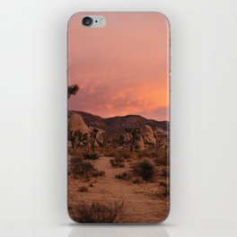 Joshua Tree Sunset iPhone Skin
