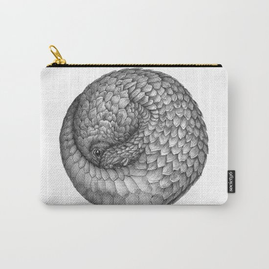 The Infinite Pangolin Carry-All Pouch