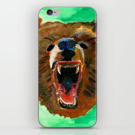 This is a bear iPhone Skin