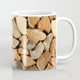 natural wood Coffee Mug
