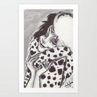 Cruella de Ville Art Print