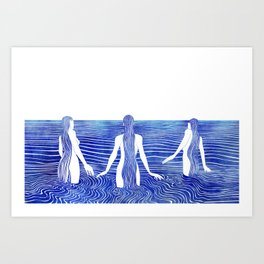 Sirens Call Art Print