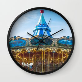 Carousel Pier 39 San Francisco Wall Clock