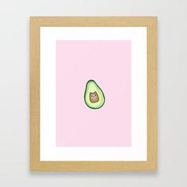 Avocado Cat AvoCATo Framed Art Print