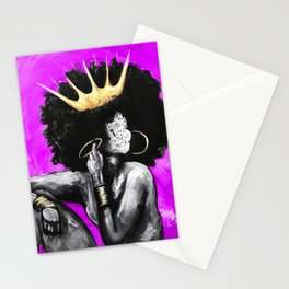 Naturally Queen VI PINK Stationery Cards