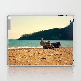 Rocks On The Wood Laptop & iPad Skin