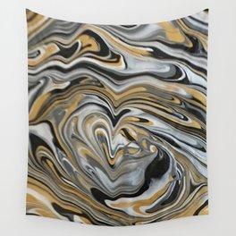 Melting Metals Wall Tapestry
