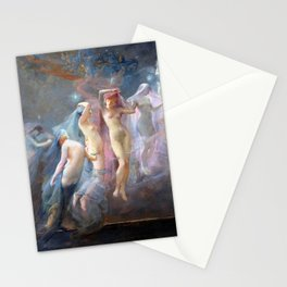 The Morning Stars By Sarah Paxton Ball Dodson 1887 Stationery Cards