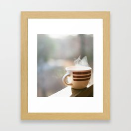 Slow Mornings Framed Art Print