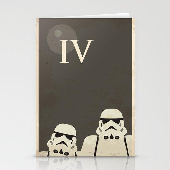 Star Wars Minimal Movie Poster Stationery Cards