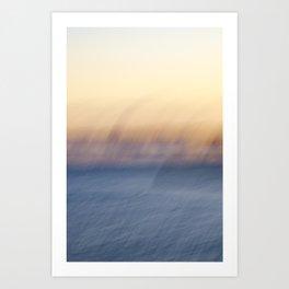 Sunset Ghosts Art Print