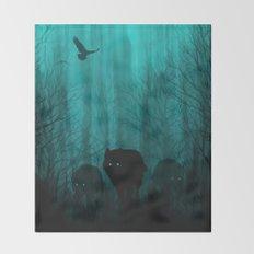 Wolf Pass Throw Blanket