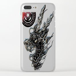 DRAGON T-shirt Clear iPhone Case