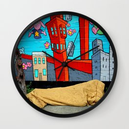 Dirt Cheap - No Vacancies Wall Clock