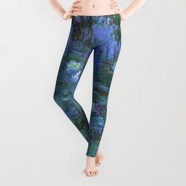 "Claude Monet ""Water Lilies"" (7) Leggings"