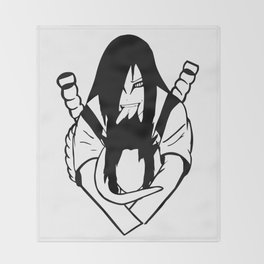 EAT YOU ALIVE Throw Blanket