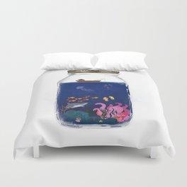 Ocean Jar Duvet Cover