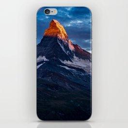 Zermatt, Switzerland #society6 #decor #buyart iPhone Skin