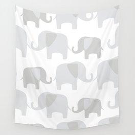 Elephant pattern Wall Tapestry