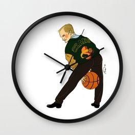 Hooping Crane Pin-up Wall Clock
